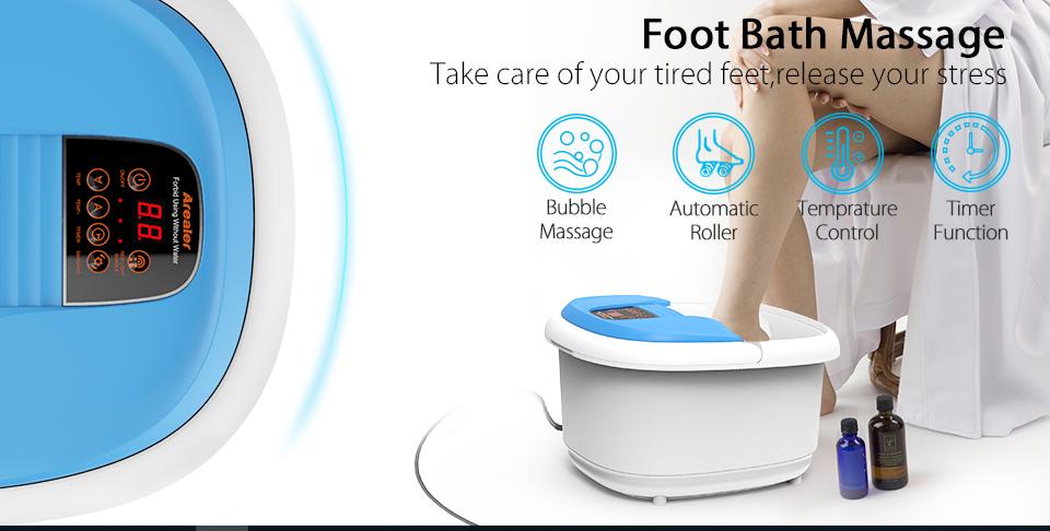 best foot bath spa massager
